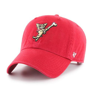 '47 Brand Adjustable El Paso Chihuahuas Red Swinging Dog Cap