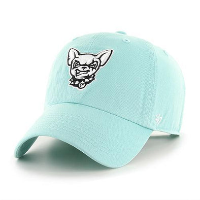 '47 Brand Women's Adjustable El Paso Chihuahuas Tiffany Blue Dog Head Cap