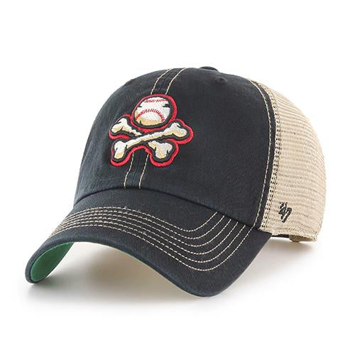 '47 Brand Adjustable El Paso Chihuahuas Mesh Back Crossbones Cap