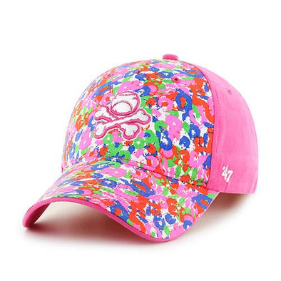 El Paso Chihuahuas SPRING 2016 HAT- YTH WHOOPTY PINK PAINTBALL