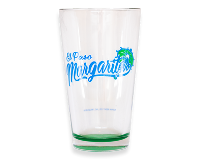 El Paso Chihuahuas Margaritas Pint Glass