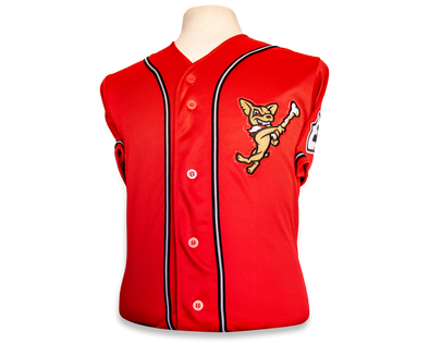 OT Sports Youth El Paso Chihuahuas Replica Red Alternate Jersey