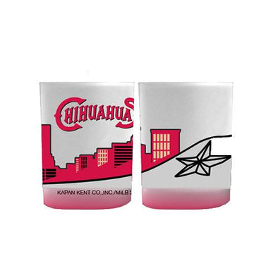 El Paso Chihuahuas SPRING 2016 DRINK- CITY SKYLINE SCOTCH GLASS