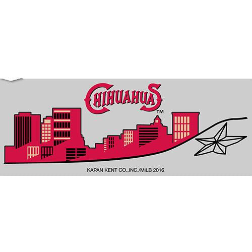 El Paso Chihuahuas SPRING 2016 DRINK- CITY SKYLINE BLACK SHOT GLASS