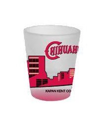 K-Kent El Paso Chihuahuas City Skyline Shot Glass