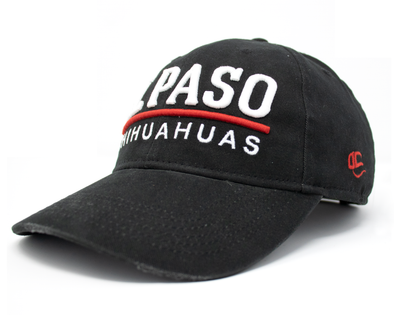 OC Sports Adjustable El Paso Chihuahuas Black Skipper Cap