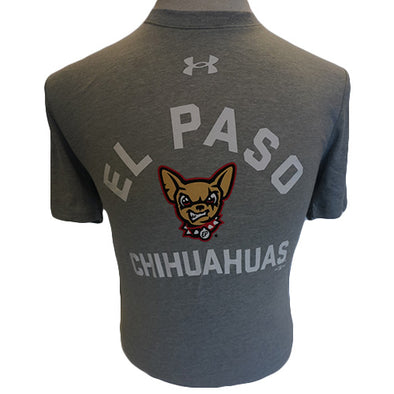 UA Men's El Paso Chihuahuas Gray Performance Tee