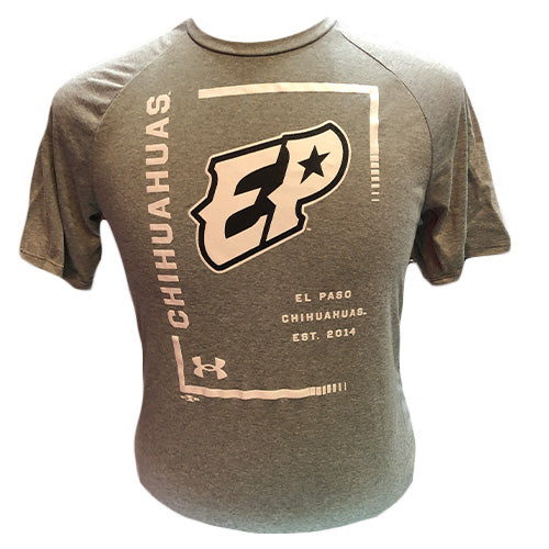 UA - Gray Tech Tee S/S