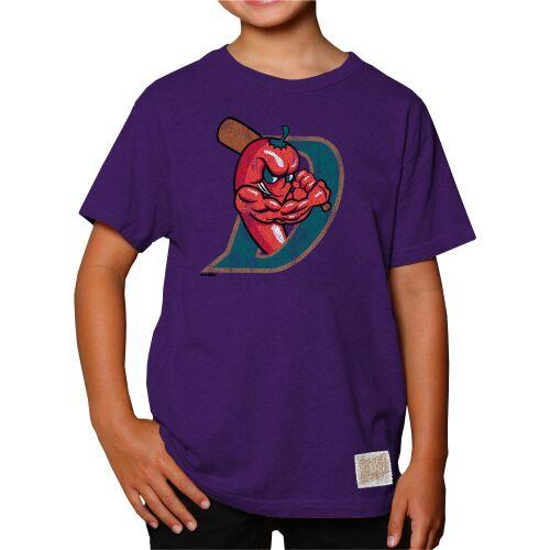 El Paso Chihuahuas TEE- YOUTH HEATHER DIABLOS