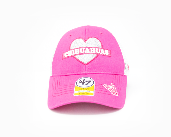 '47 Brand Youth Adjustable El Paso Chihuahuas Pink Sweetheart Cap