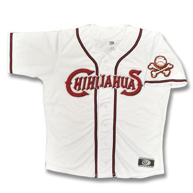 OT Sports El Paso Chihuahuas Adult Replica Home White Jersey