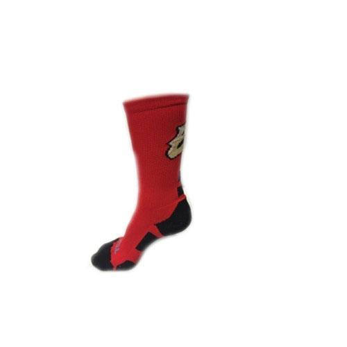 El Paso Chihuahuas SOCK- RED/BLACK EP LOGO