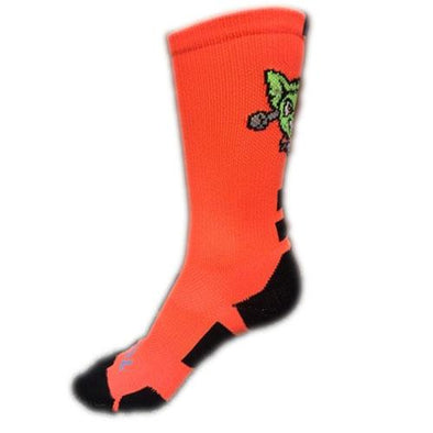 El Paso Chihuahuas SOCK- ORANGE HALLOWEEN