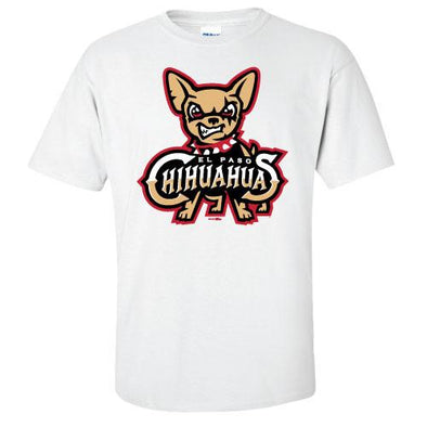 Bimm Ridder Youth El Paso Chihuahuas White Primary Tee