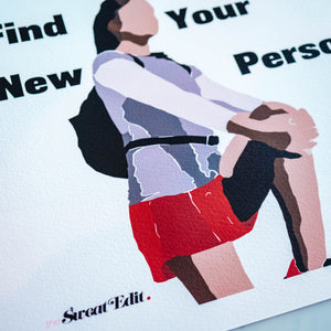 Your Personal Best Fitness Print _ Giclee Print