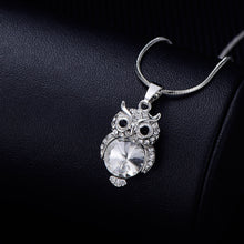 Load image into Gallery viewer, Small Owl Choker Necklace