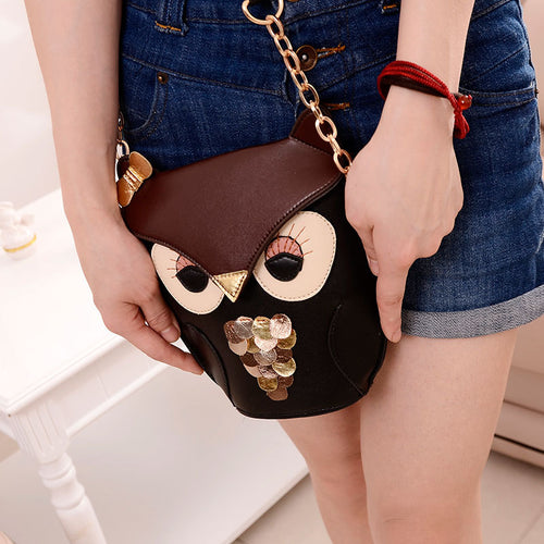 PU Leather Satchel Shoulder Bag
