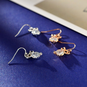 Zircon Charm Earrings