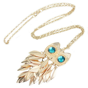 Charming Owl Pendant Necklace