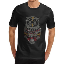 Load image into Gallery viewer, Shiny Owl Crew Neck Shirt
