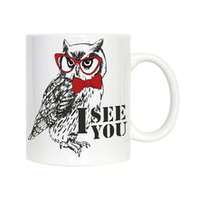 Load image into Gallery viewer, Novelty Owl Mug