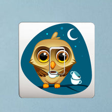 Load image into Gallery viewer, Colored Owl Sticker