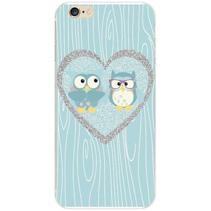 Cute Sleeping Owl Theme Case