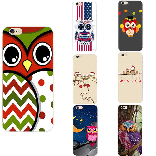 Owl Theme Face Eyes Phone Case
