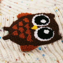Load image into Gallery viewer, Knitted Owl Sweater
