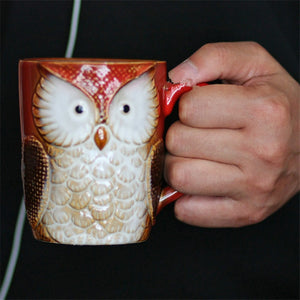 Top Quality Owl Milk Cup