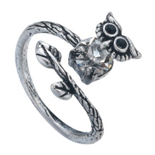 Load image into Gallery viewer, Unique Owl Ring