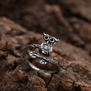 Unique Owl Ring