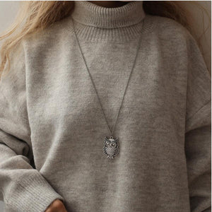 Retro Sweater Necklace