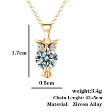 Load image into Gallery viewer, Casual Owl Pendant  Necklace