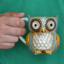 Load image into Gallery viewer, Eco-friendly Owl Mug
