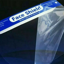 Load image into Gallery viewer, Face Visor Shield with foam - 10 Pack