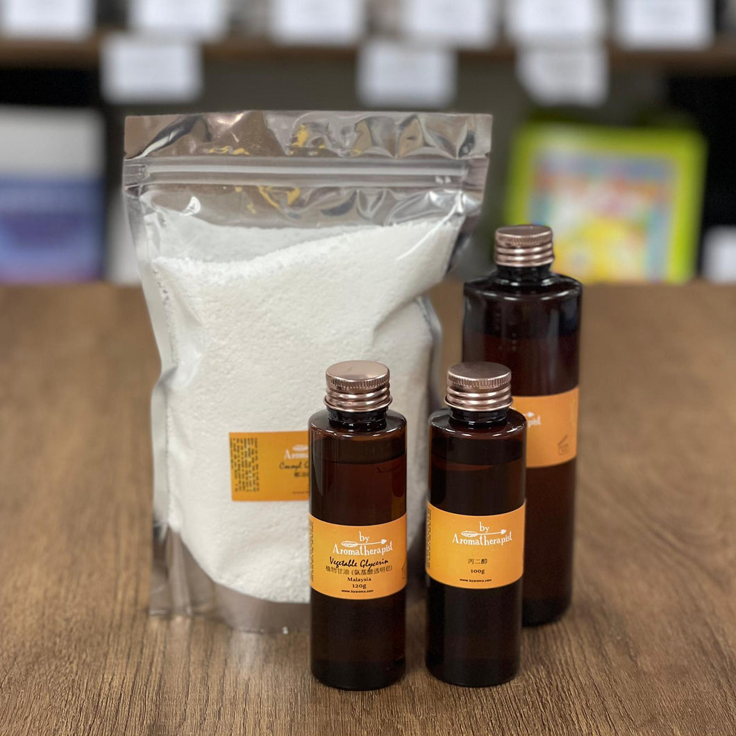 Amino Acid Clear Crystal Soap Kit 氨基酸透明水晶皂材料包