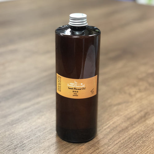 Sweet Almond Oil	甜杏油 (500ml) - Life Science Publishing & Products Hong Kong and Asia