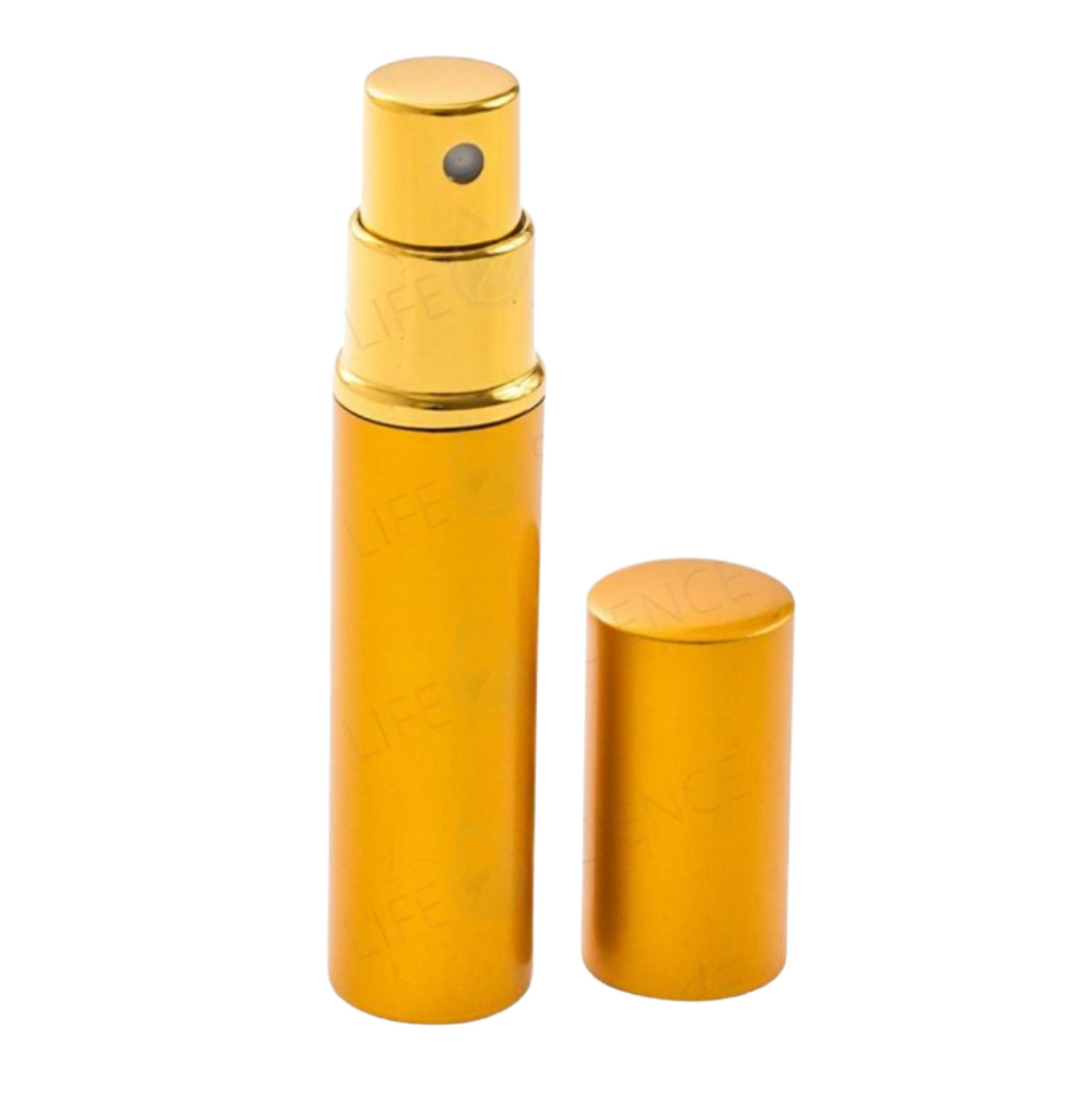 Atomizer With Gold Metal Shell - Discover Health & Lifestyle Asia