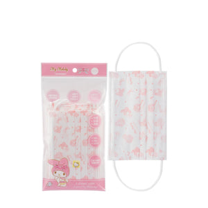 My Melody Disposable Mask Adult (10piece)