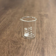 Load image into Gallery viewer, Glass Beaker (5ml, 10ml, 25ml, 50ml, 100ml, 250ml, 500ml, 1000ml)