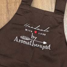 Load image into Gallery viewer, By Aromatherapist Apron with Adjustable Buttons - Brown