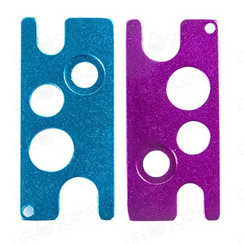 Two Bottle Cap Reducer Removers (Purple and Blue) - Life Science Publishing & Products Hong Kong and Asia