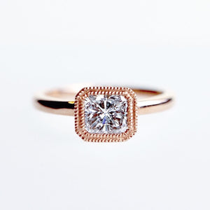 0.76 Ct Rose Gold Diamond Ring