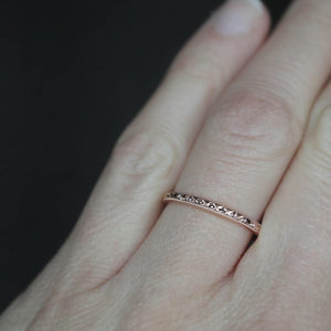 Vintage Style Rose Gold Ring