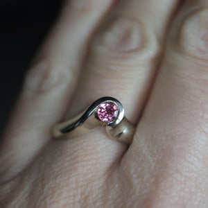 Pink Tourmaline Ring - Clearance