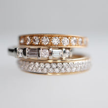 Load image into Gallery viewer, Channel Set Baguette Diamond Ring