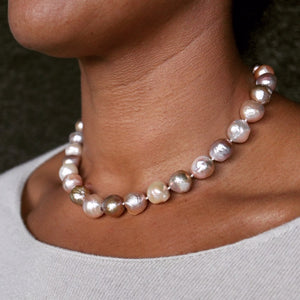 Kasumiga Pink Pearl Necklace