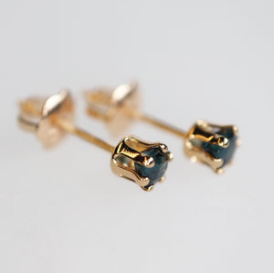 Dainty Genuine Gemstone Earrings