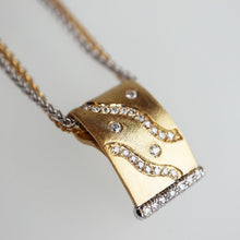Load image into Gallery viewer, Bespoke 18K Two Tone Necklace